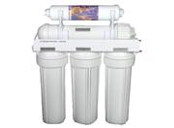 """(Part # 3003-550) 5 Stage CWW Series RO Systems w/ 4 Gallons Tank, Faucet & Accessories (Made in Canada) 50GPD TFC Complete 1/4"""""""
