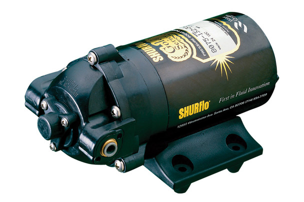 "SHURflo 8075-142-313 Gold Series RO Booster Pumps 24 VAC/VDC, 100 GPD, 90 PSI, 3/8"" FPT"