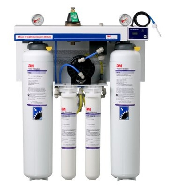 3M TFS450 Reverse Osmosis System w/TDS and Blending Valve