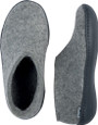 Glerups Unisex AG-01 - Felt Shoes With Rubber Sole