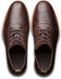 Timberland Men's Bardstown Plain Toe Oxford TB0A19V9D79 Dark Brown Nubuck