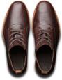 Timberland Men's Bardstown Plain Toe Oxford TB0A19V9D79 Dark Brown Nubuck - Top