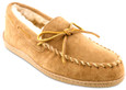 Minnetonka Men's 3741X - Sheepskin Hardsole Moccasin XL