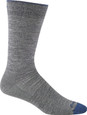 Darn Tough Socks Men's 1617 Gray - Solid Mid-Calf Light - Main Image