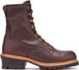 """Carolina Men's 1821 - 8"""" Steel Toe Logger - Outer Side"""