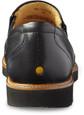 Samuel Hubbard Men's Frequent Traveler M2190-048 Black Leather - Back