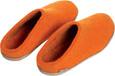 Glerups Unisex B-22 - Felt Slippers - Back