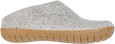 Glerups Unisex BR-01 - Felt Slippers With Rubber Sole - Main Image