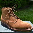 Alden Shoes Men's 54IN-ROUNDLACE-TBC - 54 Inch Round Waxed Boot Laces - Outer Side