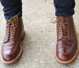 Alden Shoes Men's 54IN-ROUNDLACE-TBC - 54 Inch Round Waxed Boot Laces - Inside