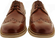 Cole Haan Men's W. Original Grand Shortwing C26471 Woodbury Leather-Ivory - Front