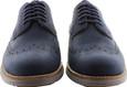 Cole Haan Men's W. Original Grand Shortwing C26473 Blazer Blue Leather-Ironstone
