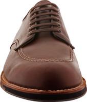 Alden Shoes Men's 6 Eyelet Indy Oxford Commando Sole D8604C Brown Chromexcel - Front