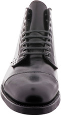 Alden Shoes Men's Straight Tip Boot 3917 Black - Front