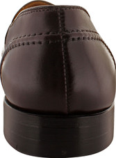 Alden Men's 683 - Full Strap Slip On - Burgundy Calfskin - Back