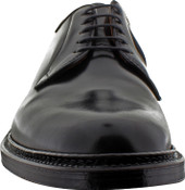 Alden Men's 9901 - Plain Toe Blucher - Black Shell Cordovan - Front