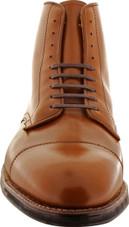 Alden Men's 40721C - Cap Toe Boot Commando Sole - Dark Tan Calfskin - Front