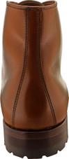 Alden Men's 40721C - Cap Toe Boot Commando Sole - Dark Tan Calfskin - Back