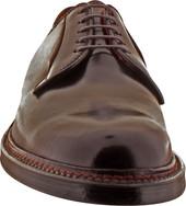 Alden Men's 990 - Plain Toe Blucher - Color 8 Shell Cordovan - Front