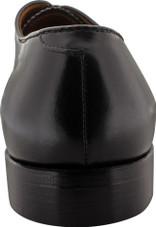 Alden Men's 907 - Straight Tip Bal - Black Calfskin - Back