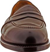 Alden Men's 684 - Full Strap Slip On - Color 8 Shell Cordovan - Front