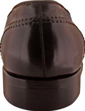 Alden Men's 684 - Full Strap Slip On - Color 8 Shell Cordovan - Back
