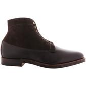 Alden Shoes Men's Michigan Boot D1803 Dark Brown Regina - Outer Side