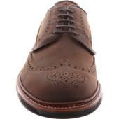Alden Shoes Men's Atom Blucher Wingtip D1501C Walnut Utica - Front
