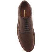 Alden Shoes Men's Atom Blucher Wingtip D1501C Walnut Utica - Top