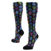 Alegria Women's Sock ALG-92600 Sugar Skulls - Main Image