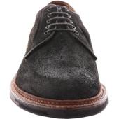 Alden Men's D1405C - Plain Toe Blucher - Reverse Earth Chamois - Front