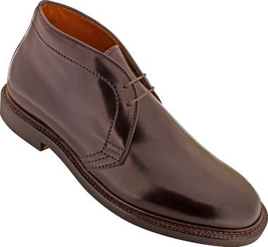 Alden Men's 1339 - Chukka Boot - Color 8 Shell Cordovan - Main Image