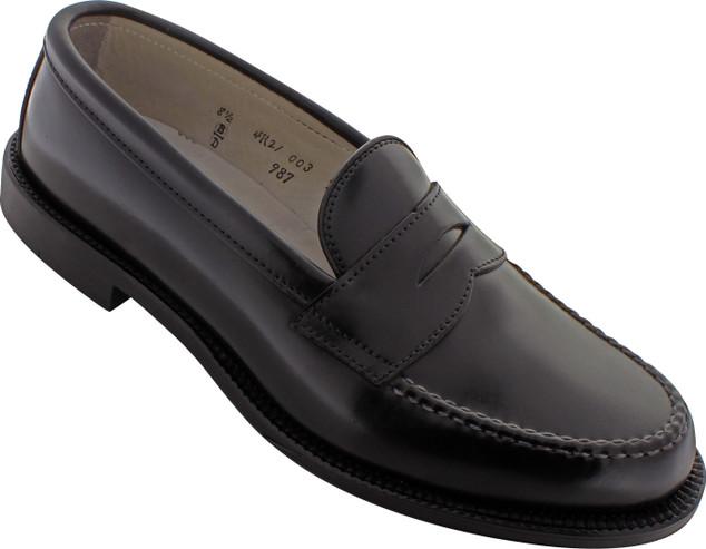 Alden Men's 987 - Leisure Handsewn - Black Shell Cordovan - Main Image