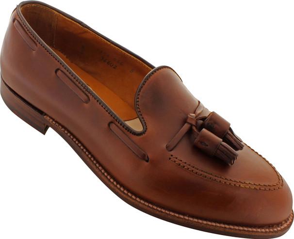 Alden Men's 36602 - Tassel Moccasin - Brown Chromexcel