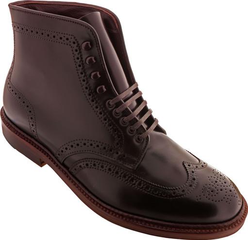 Alden Shoes Men's Wing Tip Boot Antique Edge D8804H Color 8 - Main Image