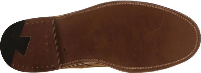 Alden Men's 39702 - Perforated Cap Toe Boot - Snuff Suede
