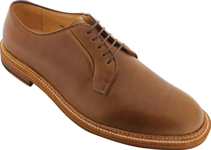 Alden Men's 9501 - Plain Toe Blucher - Natural Chromexcel - Main Image