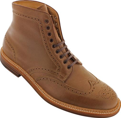 Alden Men's 44625 - Wing Tip Boot - Natural Chromexcel