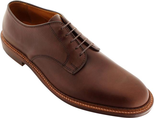 Alden Men's 29364F - Plain Toe Blucher Flex Welt - Brown Chromexcel - Main Image