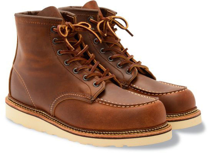 6f5c110ce793 Red Wing Heritage Men s 6-Inch Classic Moc 1907 Copper - The Shoe Mart