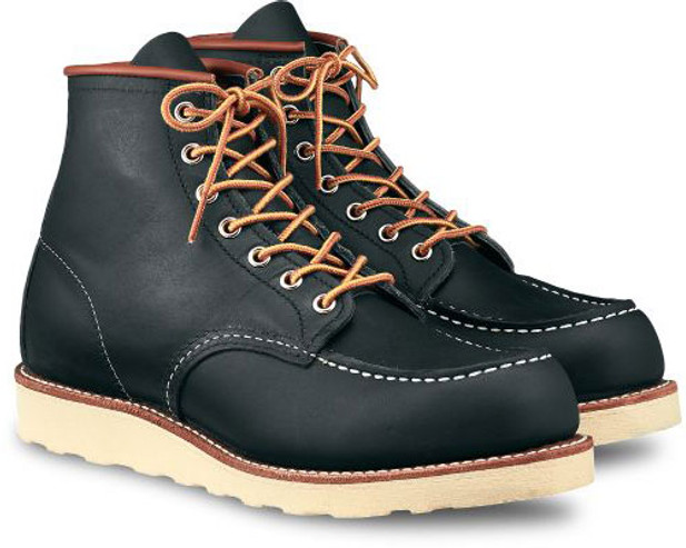 Red Wing Heritage Men's 6-Inch Classic Moc 8859 Navy Portage - Main Image