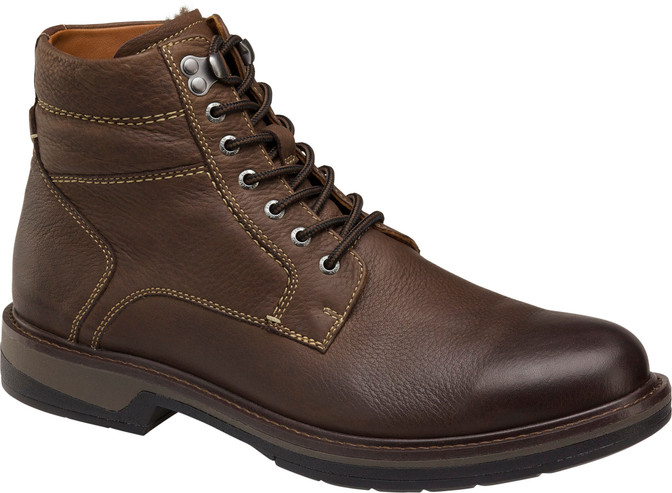 Johnston Murphy Men's XC4 Rutledge Shearling Boot  25-3080 Brown Oiled Leather - Main Image