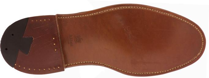 Alden Shoes Men's Cap Toe Blucher Flex Welt D7518F Brown Chromexcel