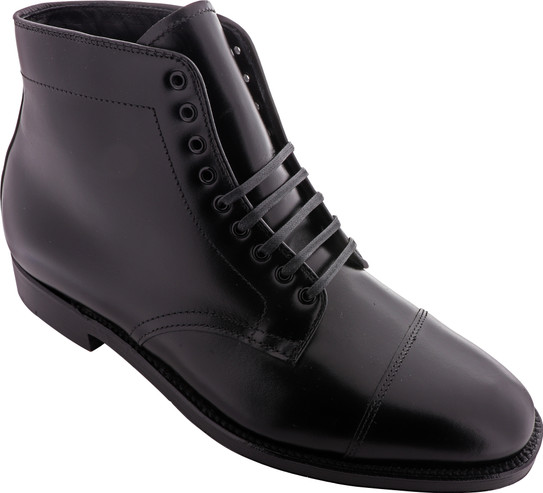 Alden Shoes Men's Straight Tip Boot 3917 Black