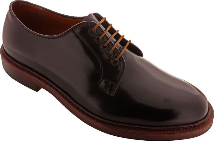 Alden Shoes Men's Plain Toe Blucher Shell Cordovan D8404 Color 8 - Main Image
