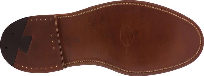 Alden Shoes Men's Plain Toe Blucher Shell Cordovan D8404 Color 8