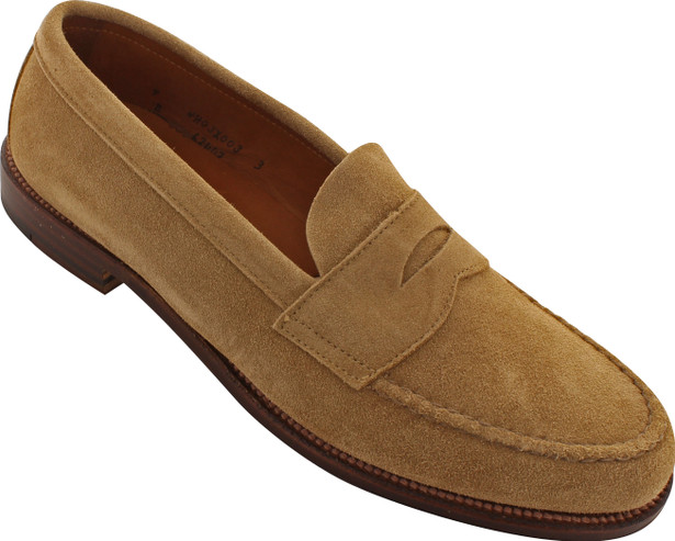 Alden Men's 6244F - UPL Handsewn on the Last Flex Welt - Tan Suede - Main Image