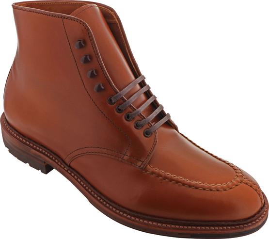 Alden Shoes Men's 40208HC Handsewn NST Boot 40208HC Burnished Dark Tan - Main Image