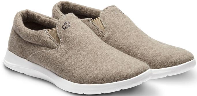Merino Men's Wool Slip On Shoes - Sand
