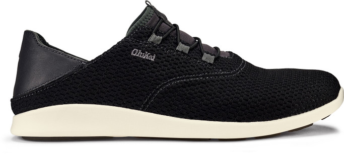 Olukai Men's 'Alapa Li  10395-406C Black-Dk Shadow - Main Image